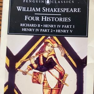 Shakespeare Accents - 3/15 Shakespeare books comedy tragedy history